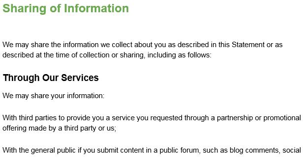 藍燈隱私權政策6