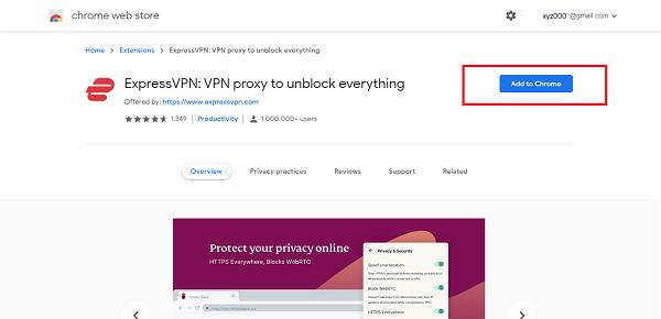 ExpressVPN-百度網盤台灣-VPN Chrom擴展