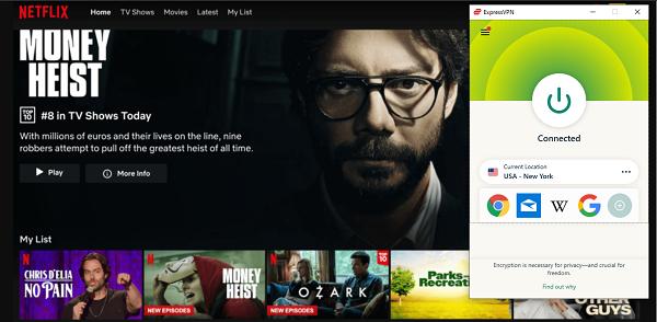 ExpressVPN解鎖Netflix