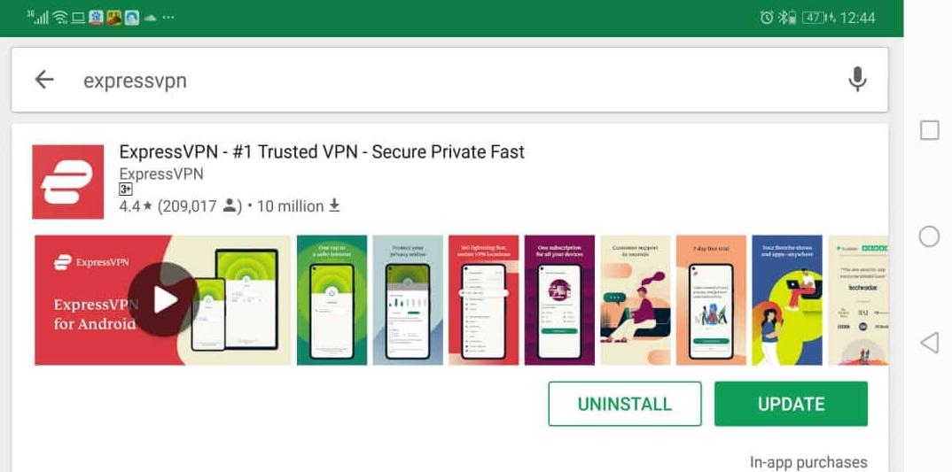 ExpressVPN-AndroidVPN-安装