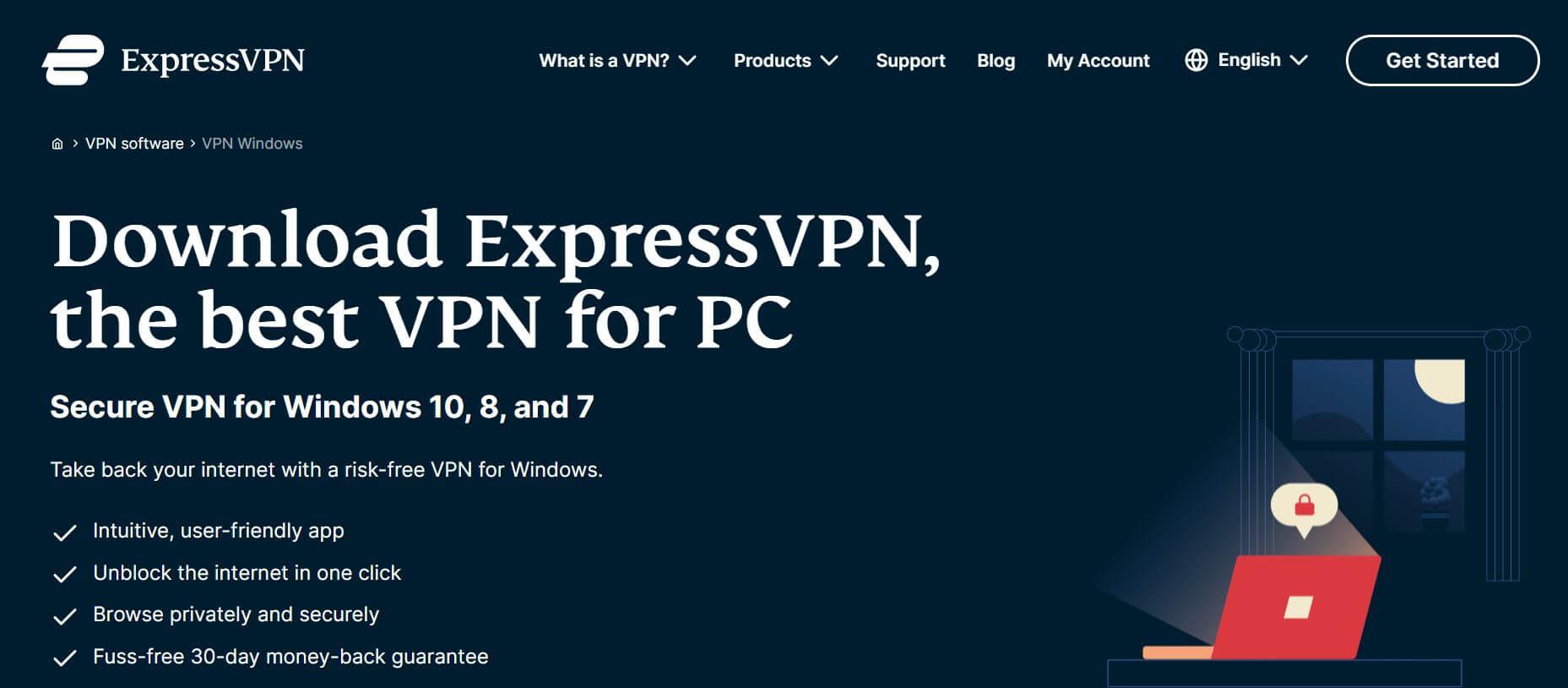 ExpressVPN-電腦VPN-安装