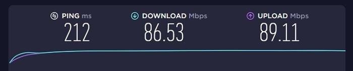 Mac VPN 速度測試